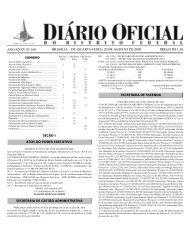 diário oficial do distrito federal - Governo do Distrito Federal