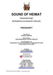 SOUND OF HEIMAT Deutschland singt! - Real Fiction