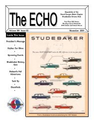The ECHO - Grand Canyon State Chapter