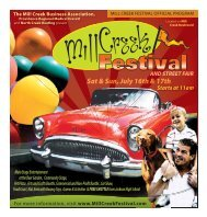 AND S ANDSTREETFAIR - the Mill Creek Festival
