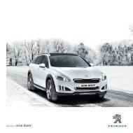Catalogus 508 RXH - Peugeot