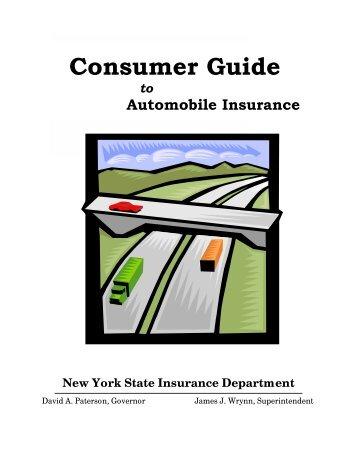 2010 Consumer Guide to Automobile Insurance - NYC Car Crash ...