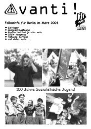 Avanti März 2004 im Netz - Falken Berlin