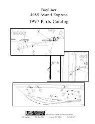 1997 PARTS CATALOG - Bayliner Parts