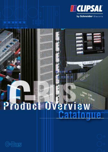 C-Bus Product Overview Catalogue, 5805 - Clipsal