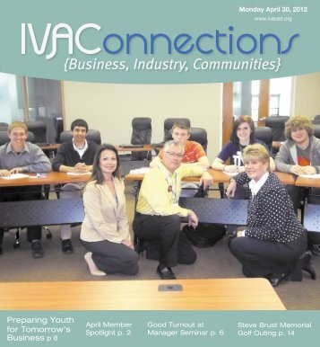 tomorrow's business - Illinois Valley Area Chamber of Commerce ...