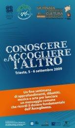 Trieste, 5 - 6 settembre 2009 - WeDoCARE