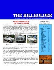 the hillholder - Studebaker Clubs