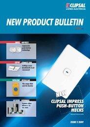 New Product Bulletin 08, 14809 - Clipsal
