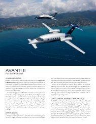 P180 Avanti II - Black Rock Global Services