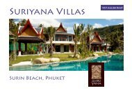 Suriyana Villas - Asia Island Homes