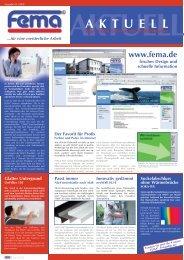 Kundenzeitung 2009.qxd - FEMA Farben + Putze GmbH