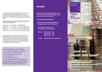 ...und wo bleibt das Geld? - Diakonisches Werk Hamburg