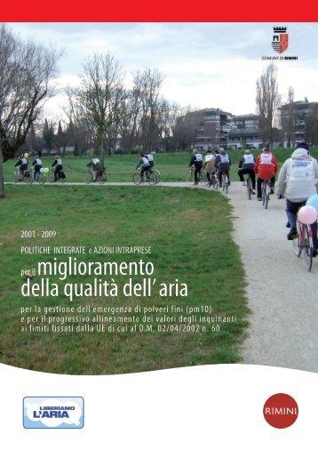 per il miglioramento della qualità dell' aria - Comune di Rimini