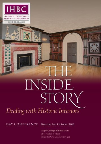 Dealing with Historic Interiors - Institute of Historic Building ...