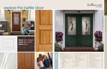 Masonite 2012 Exterior Doors Catalog - Trim Tech of Austin, Inc.