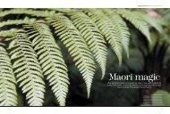 Maori magic - avant gardener