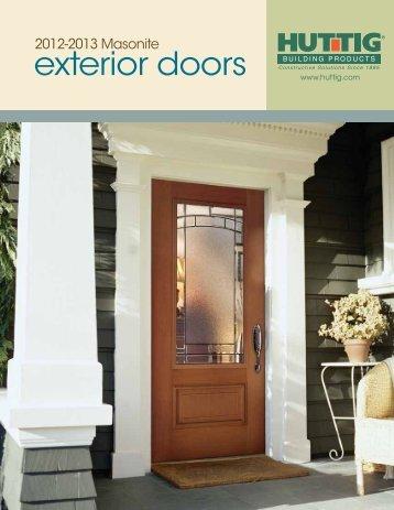 exterior doors - Huttig Building Products