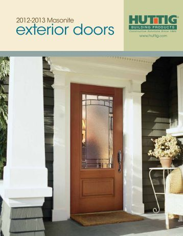 exterior doors - Huttig Building Products