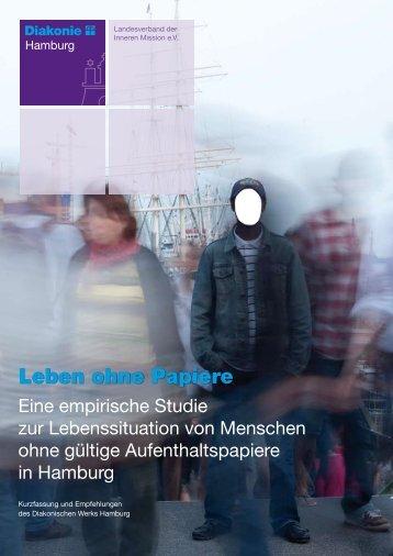 """Studie """"Leben ohne Papiere - Hamburgasyl"""