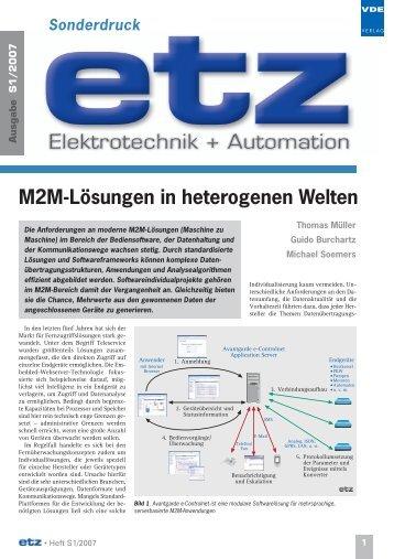 M2M-Lösungen in heterogenen Welten - AVANTGARDE Business ...