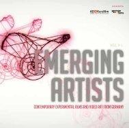 Emerging Artists - Contemporary Experimental Films ... - German Films