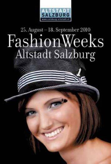 Donnerstag, 26. August 2010 | ab 18.30 Uhr - Altstadt Salzburg