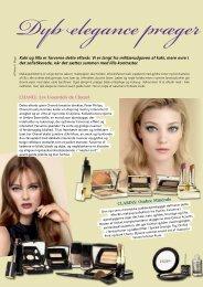 Dyb elegance præger efteråret - læs artiklen her - Fagbladet Kosmetik