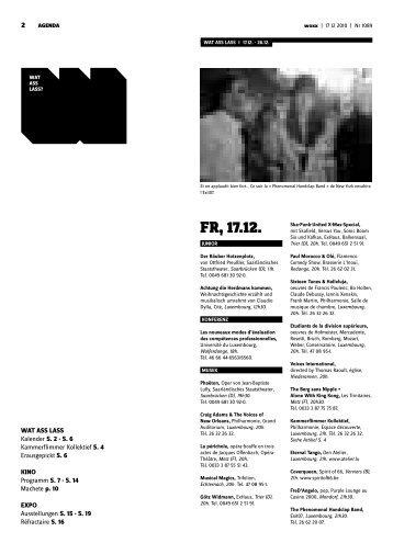Fr, 17.12. - Woxx