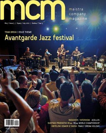 Avantgarde Jazz festival - Maistra