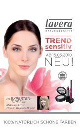 Lavera Make-Up Berater - Aromina