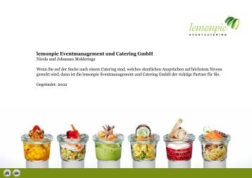 lemonpie Eventmanagement und Catering GmbH