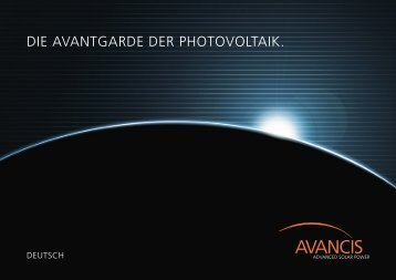 DIE AVANTGARDE DER PHOTOVOLTAIK. - CleanThinking.de