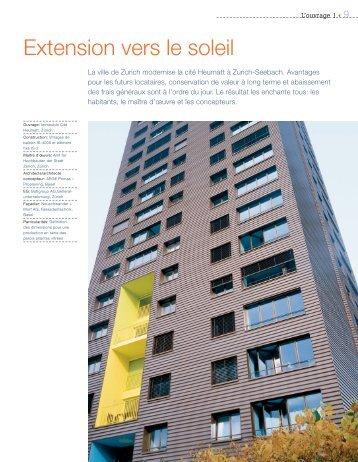 Description de l'ouvrage (pdf, 880 KB) - Schweizer Metallbau