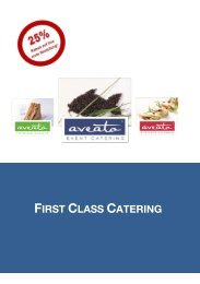 FIRST CLASS CATERING - Business-Catering in Berlin