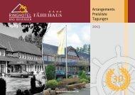 1983 - 2013 - Ringhotel Fährhaus