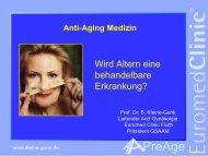 Anti-Aging-Medizin - Therapie - Maleki Conferences GmbH