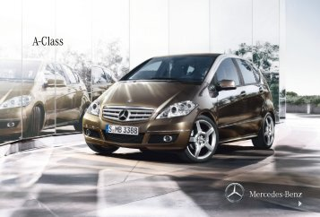 A-Class - Mercedes-Benz UK