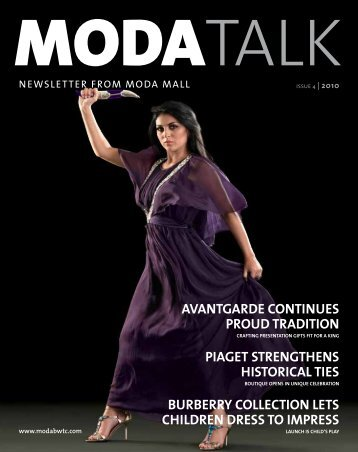 AVANTGARDE CONTINUES PROUD TRADITION ... - MODA Mall
