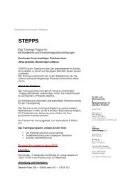 Ablauf STEPPS - Diakonie Ruhr-Hellweg e.V.
