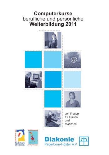 Weiterbildung 2011 - Diakonie Paderborn-Höxter eV