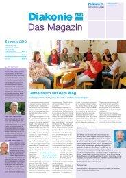 Sommer 2012 - Diakonieverband Schwäbisch Hall
