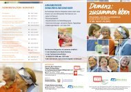Demenz: zusammen leben - Diakonie Ruhr-Hellweg e.V.