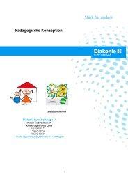 Pädagogische Konzeption - Diakonie Ruhr-Hellweg