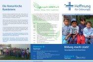 Die Roma-Kirche Rumäniens Bildung macht stark! - Diakonie Sachsen