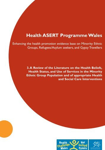 Health ASERT Programme Wales - Kent Academic Repository ...