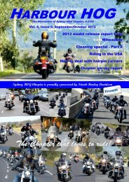 hog arbour - Sydney HOG Chapter