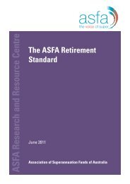 ASFA Research and Resource Centre Association of ... - Tasplan