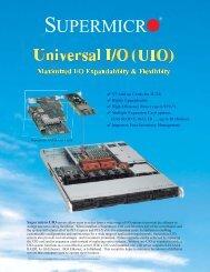 SC812L-UUIO Chassis - Dual/Single Processors - nemonix