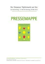 PRESSEMAPPE - Dießen